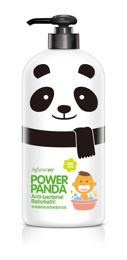 Against24 Power Panda Antibacterial Baby Bath