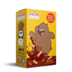 WE BARE BEARS MINI POCKET WAFER WITH CHOCOLATE FILLING