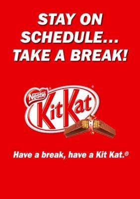 Kit Kat Slogan