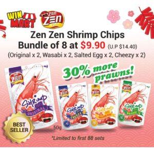 Zen Zen Shrimp Chip Bundle